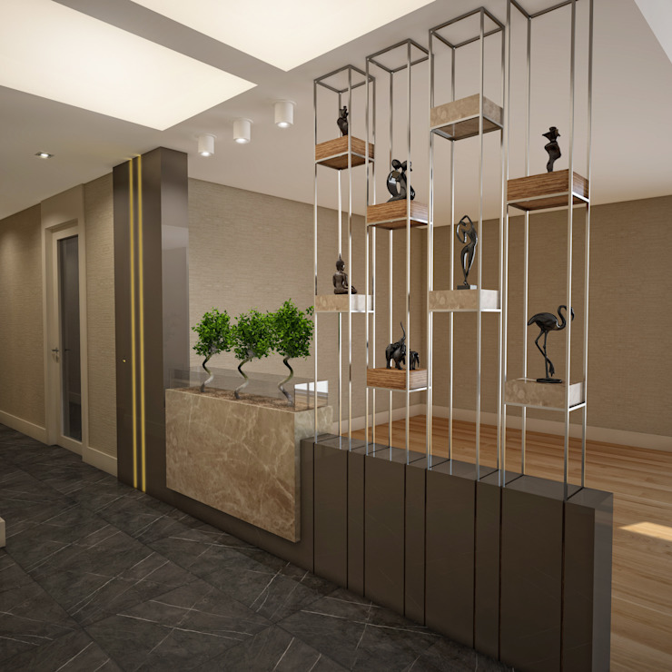 BWorks  – BM HOUSE:  tarz Koridor ve Hol,