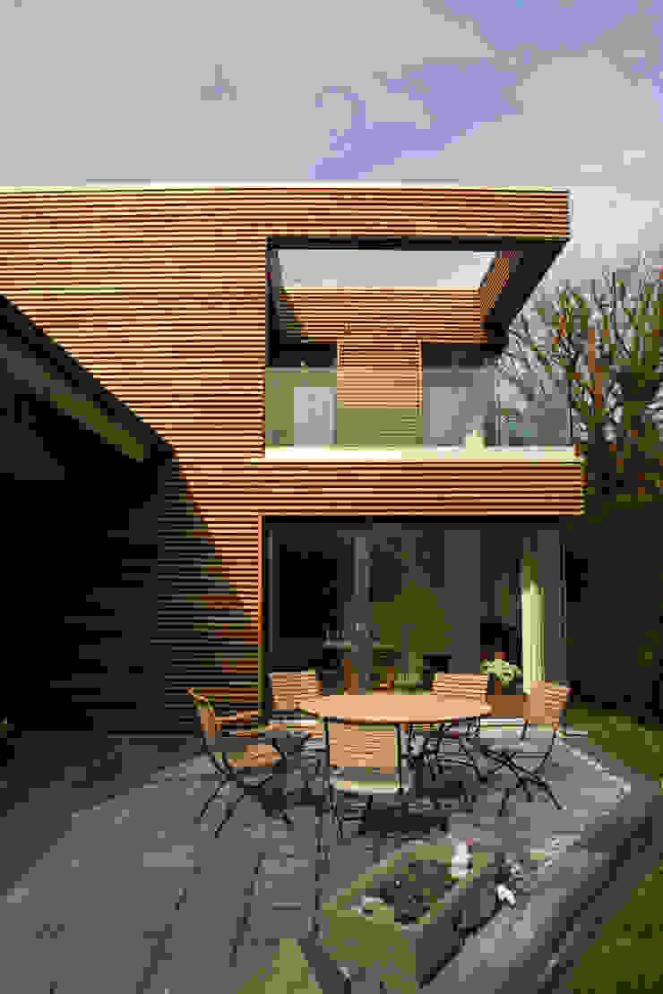 Seitenansicht Moderne Häuser von Architekturbüro Sahle Modern