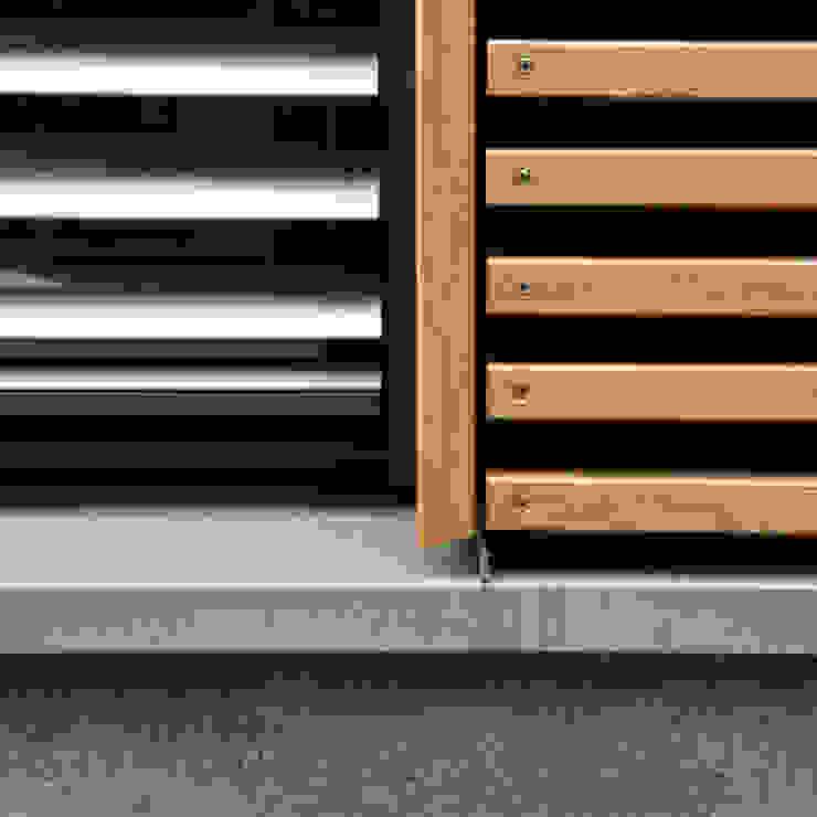 Detail Sockel Moderne Häuser von Architekturbüro Sahle Modern