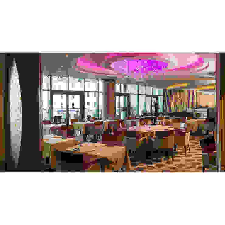 Sirocco Restaurant, Royal Yacht Hotel, Jersey Modern hotels by IDP Design Modern