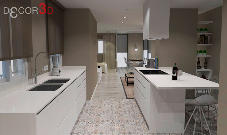 Kitchen by Nuria Decor3D ,