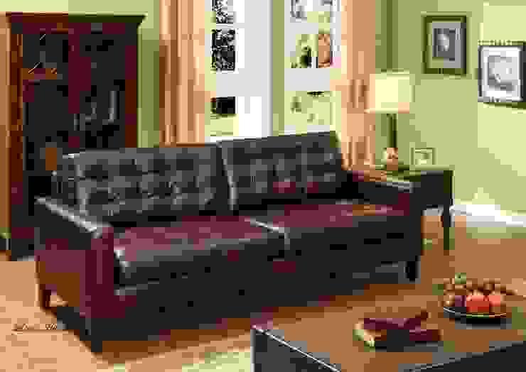 Leather Furniture: modern  by Locus Habitat,Modern