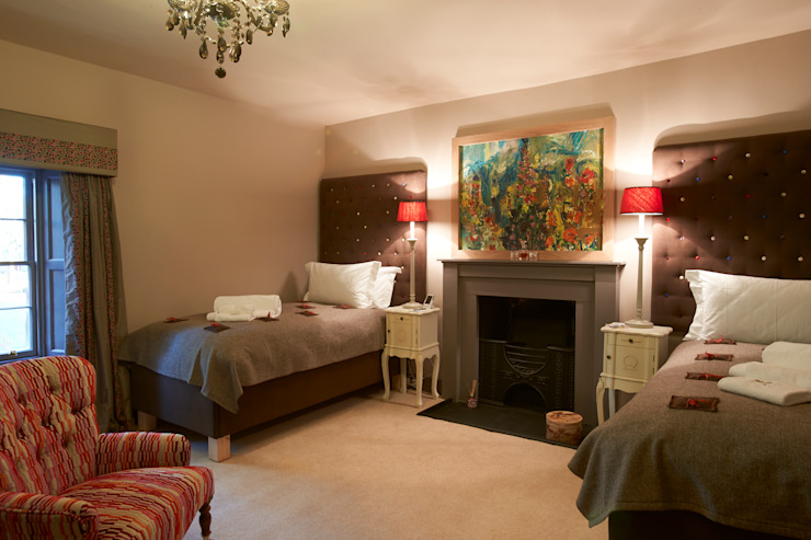Bedroom Country style bedroom by Architects Scotland Ltd Country