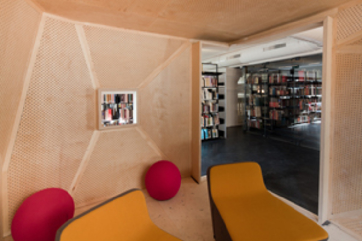 Modern style media rooms by SANALarc Modern