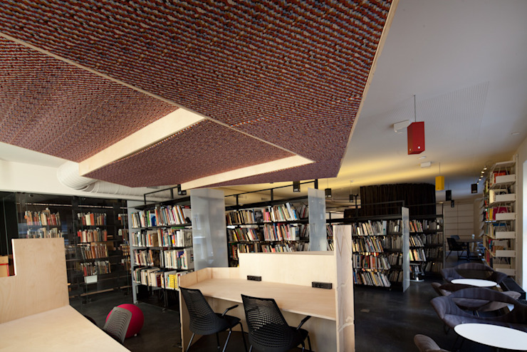Modern Study Room and Home Office by SANALarc Modern