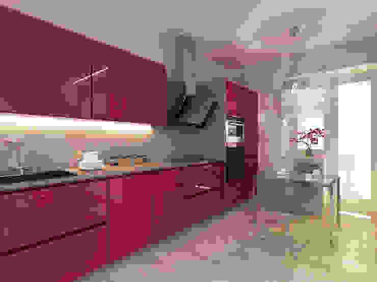 Cozinhas modernas por OK Interior Design Moderno