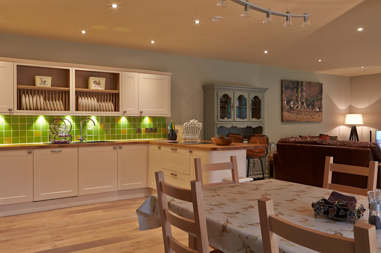 Cocinas de estilo  por Architects Scotland Ltd, Moderno