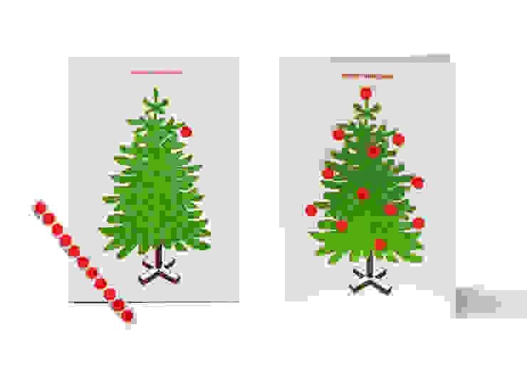 trim your tree: modern  von Jette Scheib Design,Modern