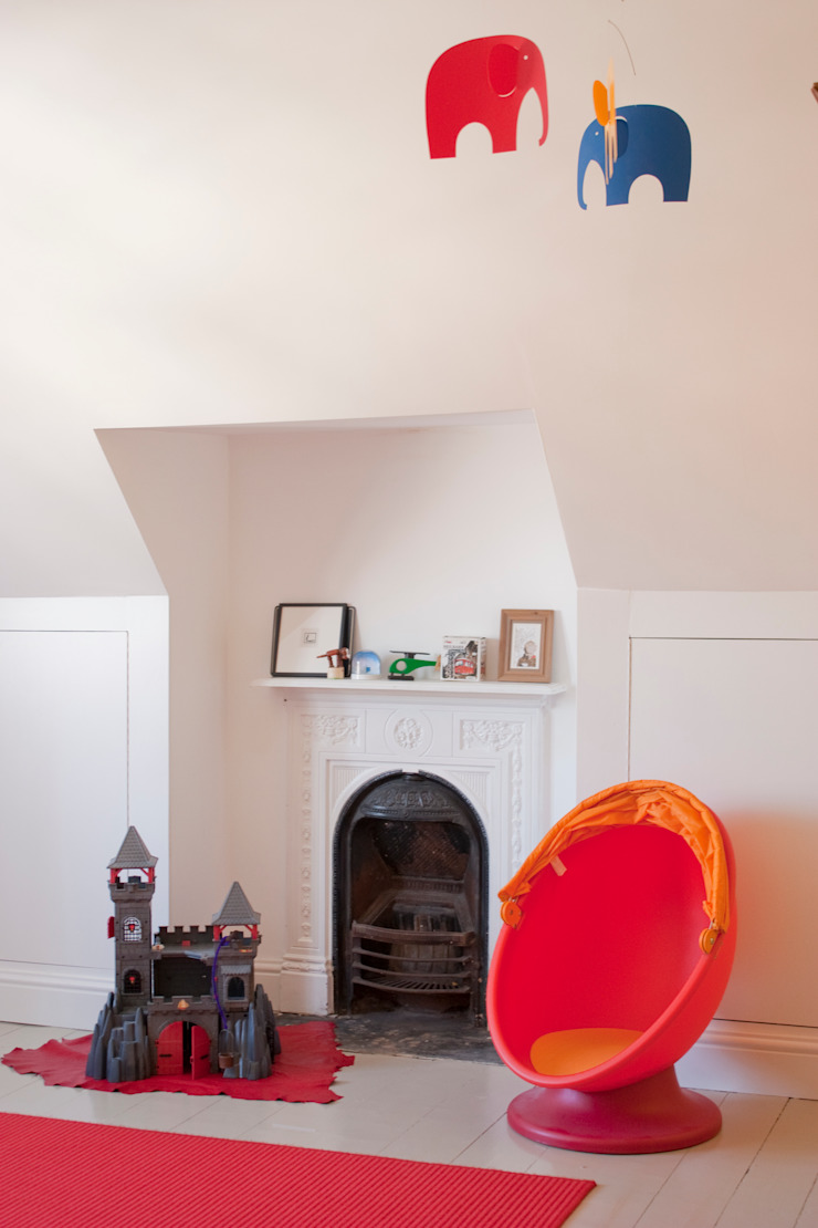 House remodelling in North Bristol Modern nursery/kids room by Dittrich Hudson Vasetti Architects Modern