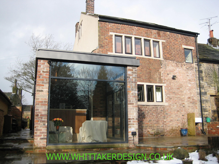 Extension to a Grade II Listed Building by WHITTAKER DESIGN