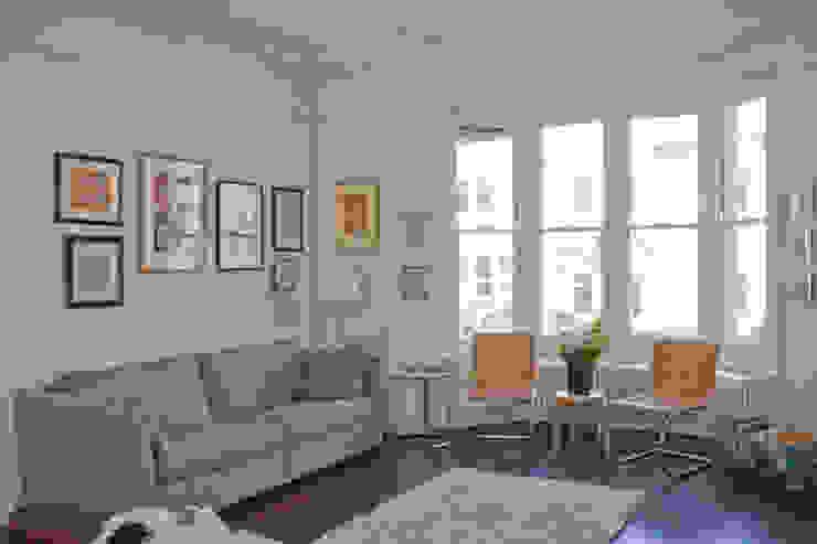 Living Room Livings de estilo moderno de Dittrich Hudson Vasetti Architects Moderno
