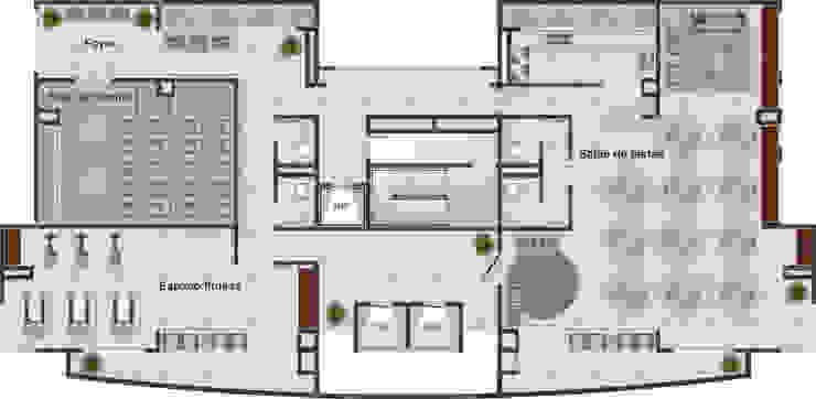 Modern home by DE-H ARQUITETURA Modern