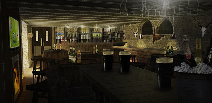 private bar by JC Interiors