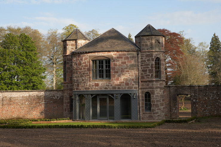 The Apple House Elevation Country style hotels by Architects Scotland Ltd Country