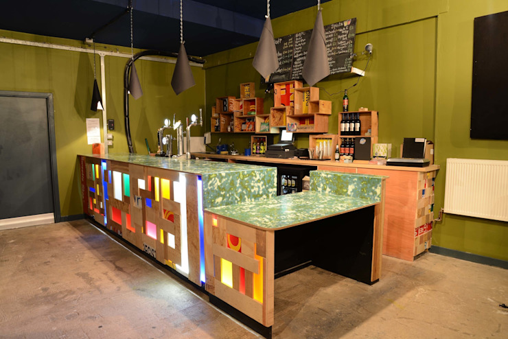 A Glasgow Cafe Eclectic style commercial spaces by info3551 Eclectic