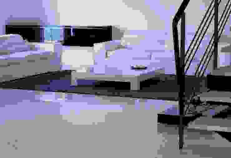Casa Privata Soggiorno minimalista di A+R Architects Minimalista