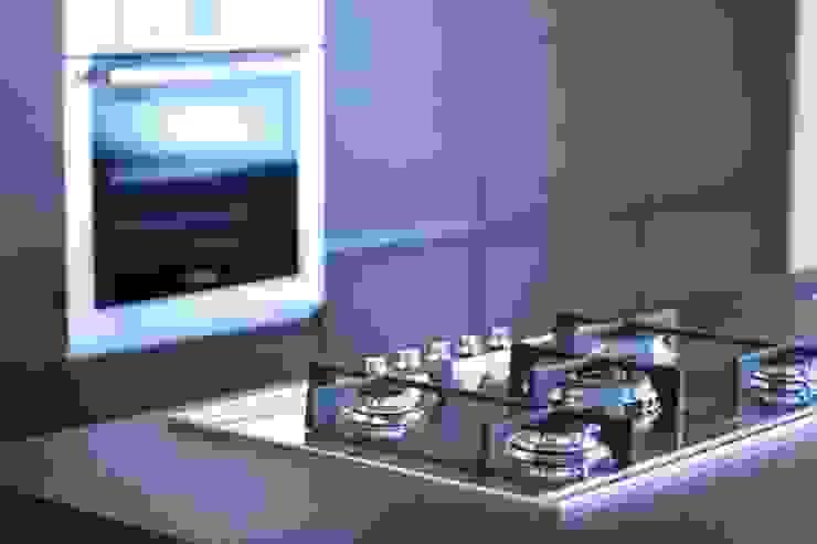 Casa Privata Cucina minimalista di A+R Architects Minimalista