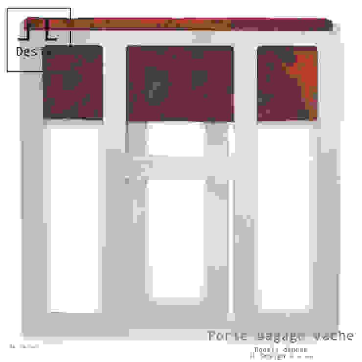 PORTE BAGAGES PLIE par Print-out / james lenglin design Moderne