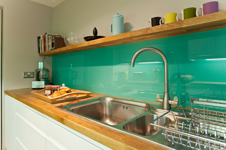 Kitchen remodelling in South Bristol Cocinas modernas: Ideas, imágenes y decoración de Dittrich Hudson Vasetti Architects Moderno