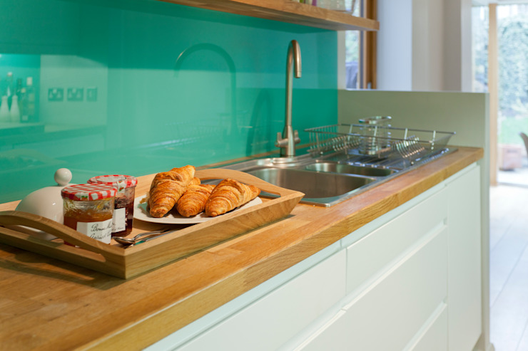 Kitchen remodelling in South Bristol Modern style kitchen by Dittrich Hudson Vasetti Architects Modern