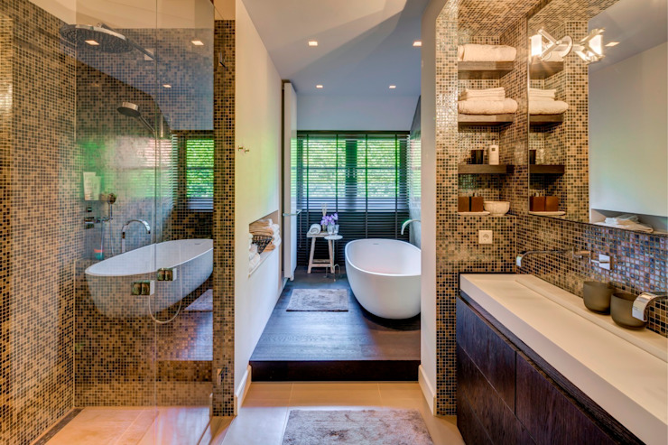 Bathroom by Kabaz, Modern