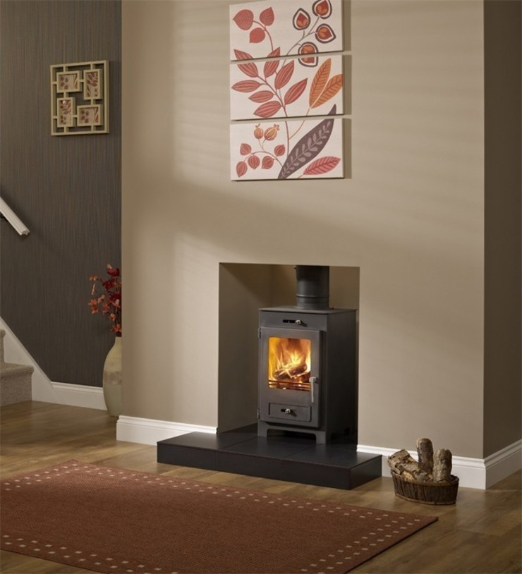 Hillandale Silverdale 5 DEFRA Approved Wood Burning Stove: modern  by Direct Stoves, Modern