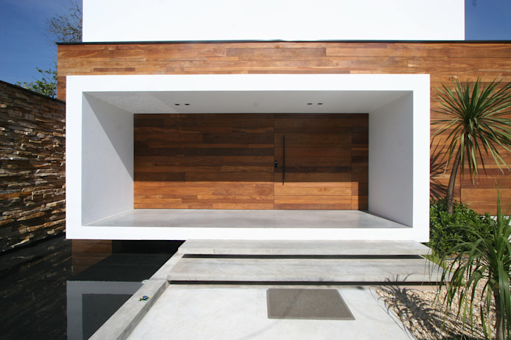 Paredes y pisos de estilo minimalista de ZAAV Arquitetura Minimalista