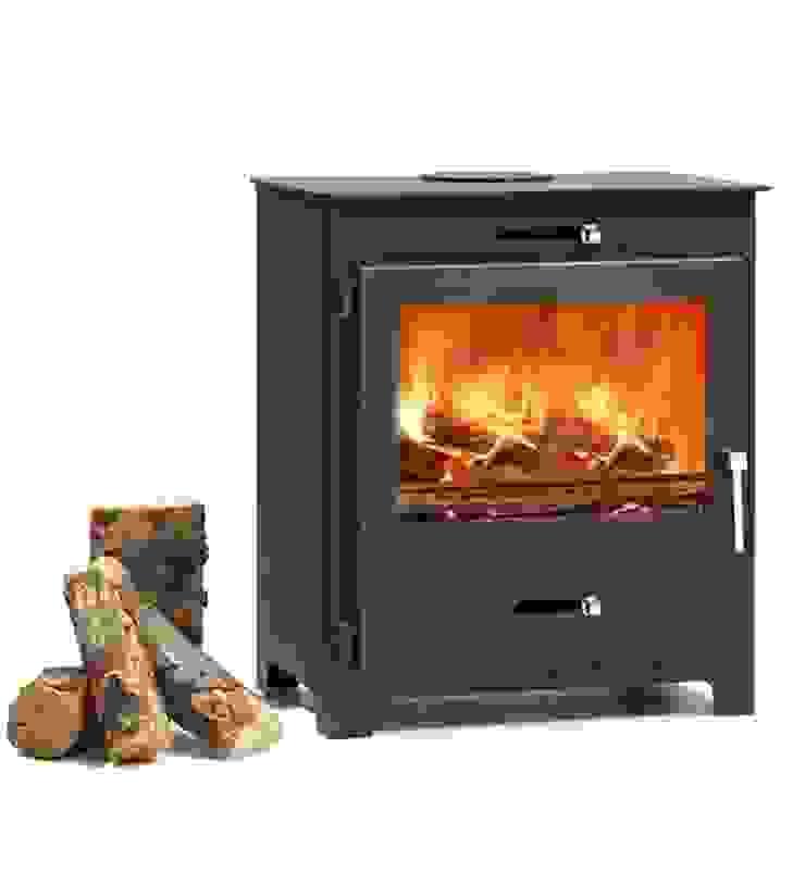 Hillandale Silverdale 7 Wood Burning DEFRA Approved Stove: modern  by Direct Stoves, Modern