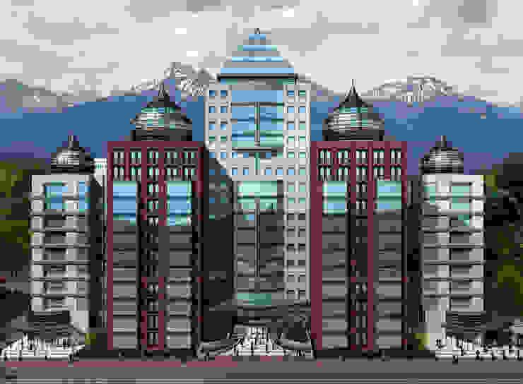 Kazakistan Soyak Projesi Eklektik Oteller 5 dakika Deneyim Tasarımı / Experience Design Eklektik