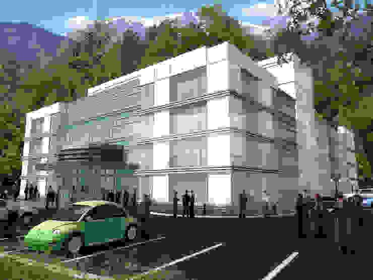 Kazakistan Soyak Projesi 5 dakika Deneyim Tasarımı / Experience Design Modern