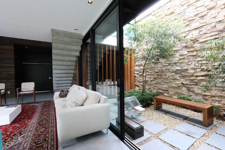 Jardines de invierno minimalistas de ZAAV Arquitetura Minimalista