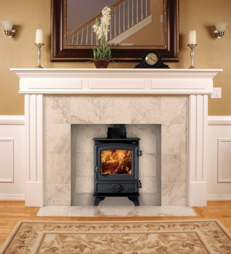 Hunter Hawk 4 Wood Burning Stove: country  by Direct Stoves, Country