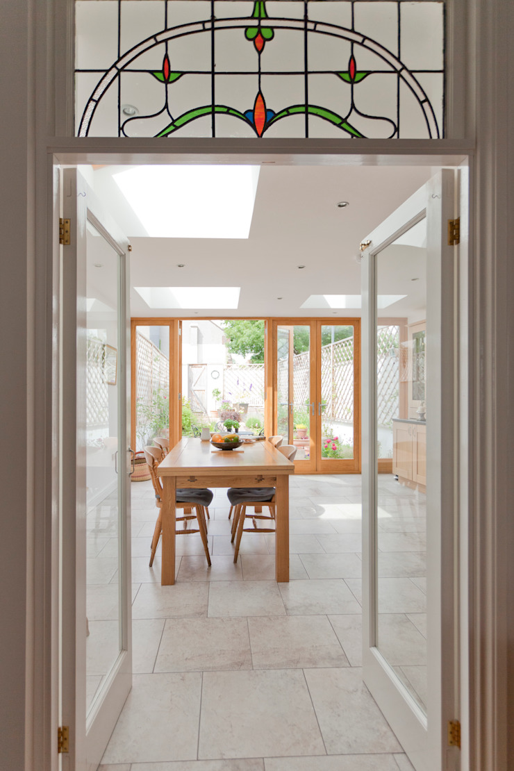 New dining room designed by DHV Architects Modern dining room by Dittrich Hudson Vasetti Architects Modern