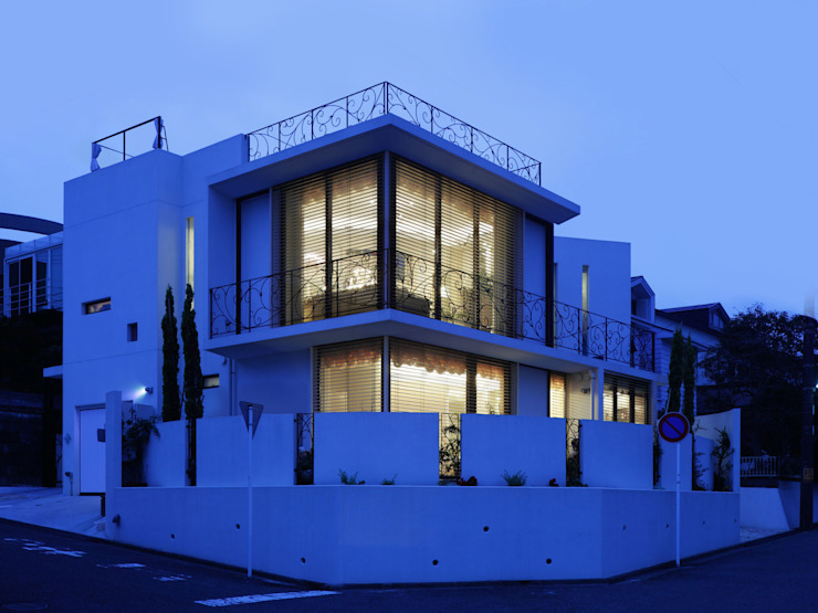 Mediterranean style house by 菅原浩太建築設計事務所 Mediterranean