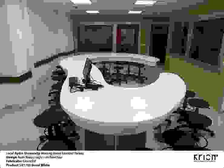 Gensolid Telnoloji Gel.Mob.İnş.Ltd.Şti. – Aydın University: modern tarz , Modern