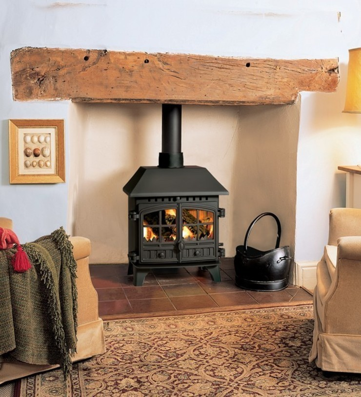 Hunter Herald 8 Wood Burning Stove: country  by Direct Stoves, Country