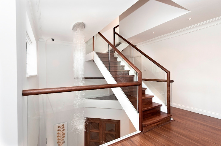 Ealing staircases: minimalist  by Smet UK - Staircases, Minimalist