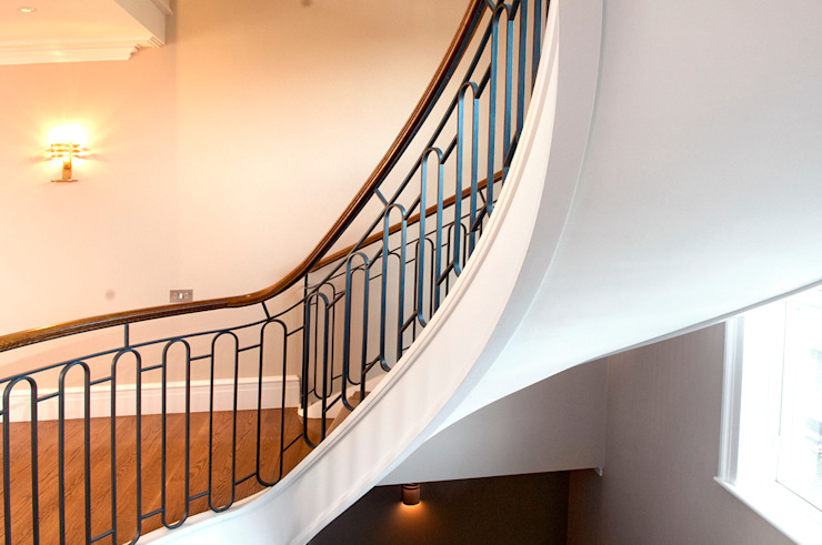 East Sheen Staircase: scandinavian  by Smet UK - Staircases, Scandinavian