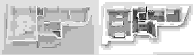 Maquettes 3D Avant/Apres 5e étg par Yeme + Saunier