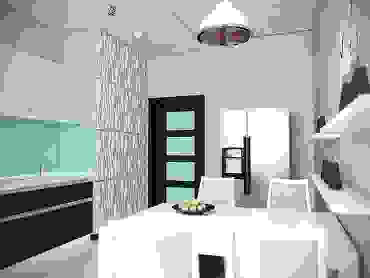 Интерьер 3-х комнатной квартиры в ЖК «ADF Plaza» от Murat Sabekov