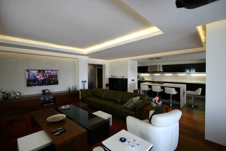 M.B. Evi Modern Oturma Odası avci_burak Modern