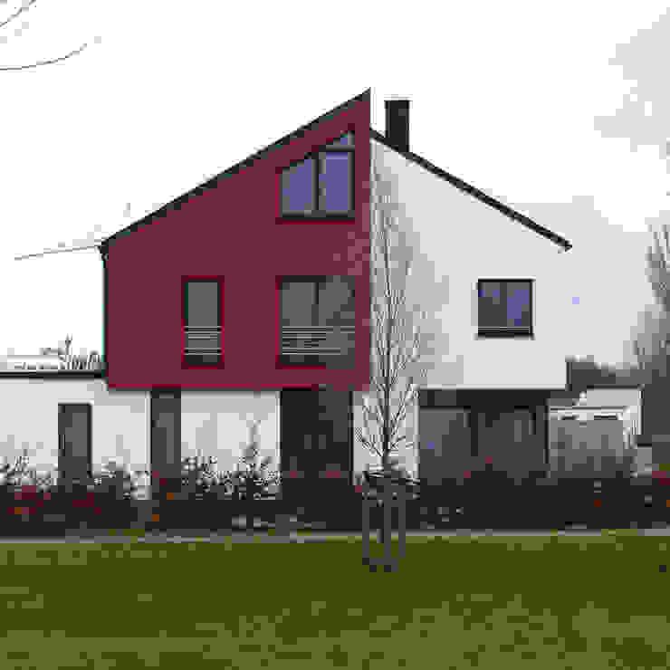 Bauwerk Architekten Haus W Moderne Häuser von BauWerk Architekten Dortmund Modern