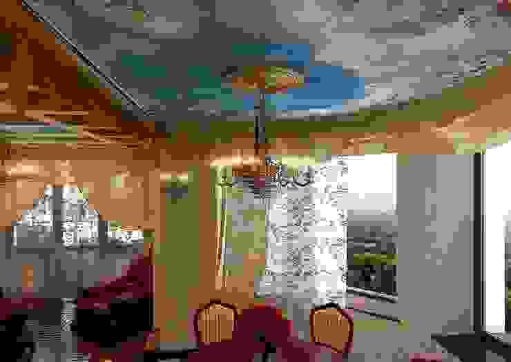 гостиная в частном доме от частный дизайнер
