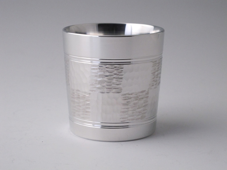 Old-fashion (ichimatsu) (A tin whisky cup): modern  by Rin crossing, Modern