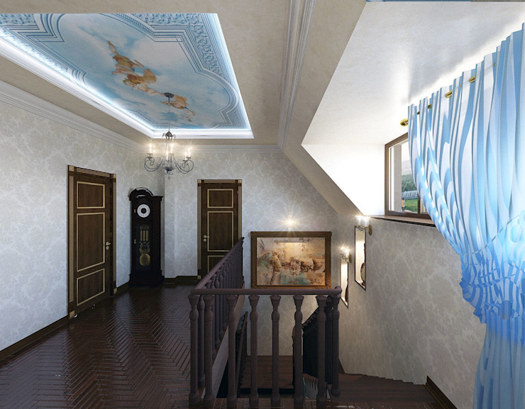 лестница в доме от частный дизайнер