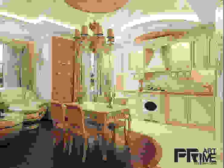Квартира-студия классика Столовая комната в классическом стиле от 'PRimeART' Классический
