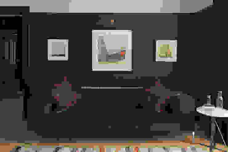 Living Room Salas de estar modernas por ABN7 Architects Moderno