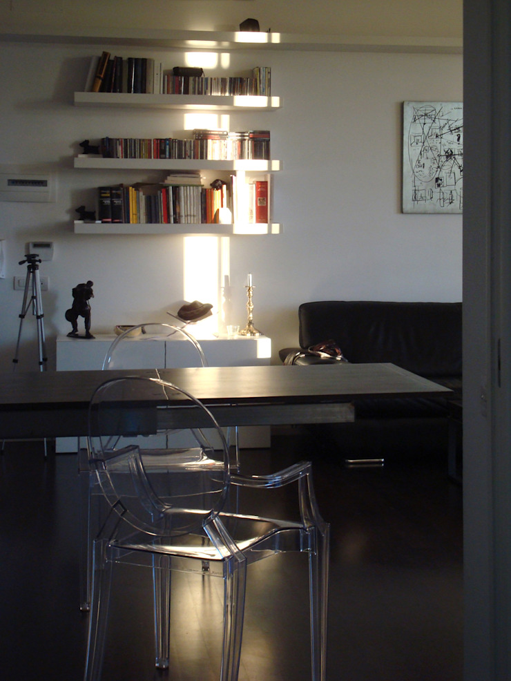 c_house pranzo Sala da pranzo moderna di evels & papitto - b4architects Moderno