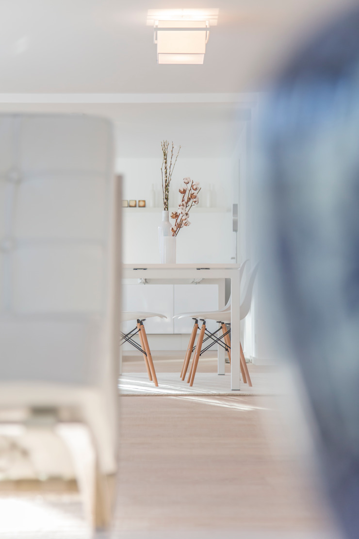 edit home staging Comedores de estilo ecléctico