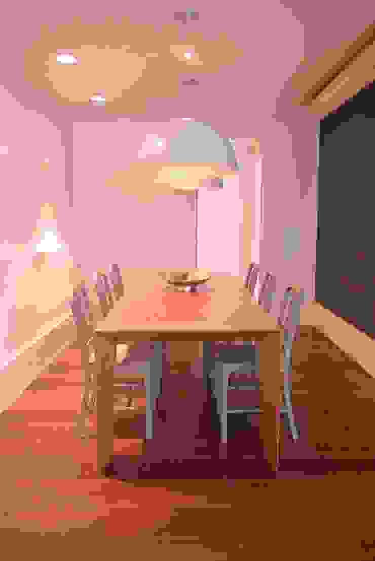 Apartamento Leblon Salas de jantar modernas por Andréa Menezes & Franklin Iriarte Moderno